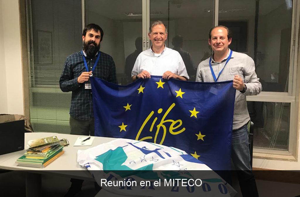 REUNIÓN CON EL MITECO