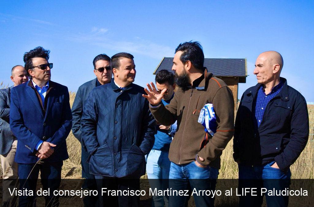 VISITA DE LA CONSEJERÍA DE AGRICULTURA, MEDIO AMBIENTE Y DESARROLLO RURAL