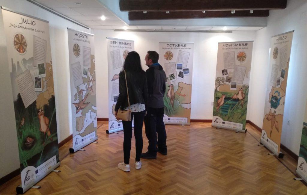 Exposición de paneles interpretativos en la Casa del Parque de La Nava y Campos de Palencia, en Fuentes de Nava, Palencia.