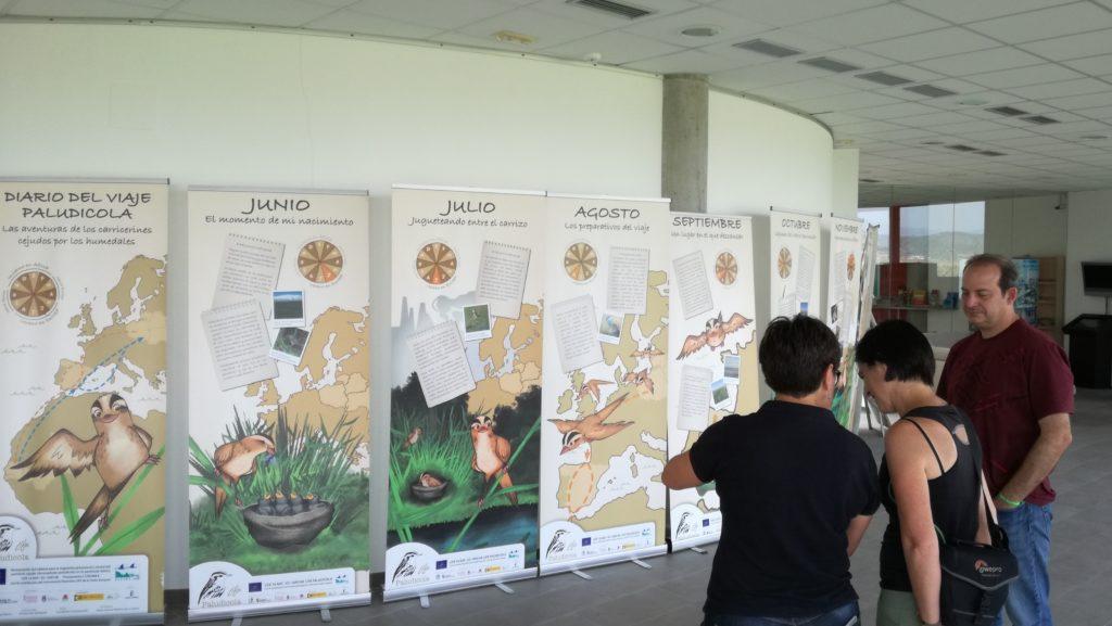 Visita a la Exposición divulgativa en el Espai Natura