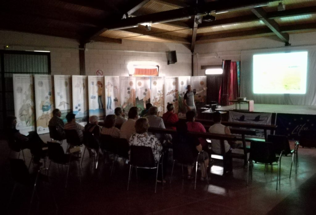 Exposición y charla en Villerías de Campos, Palencia.