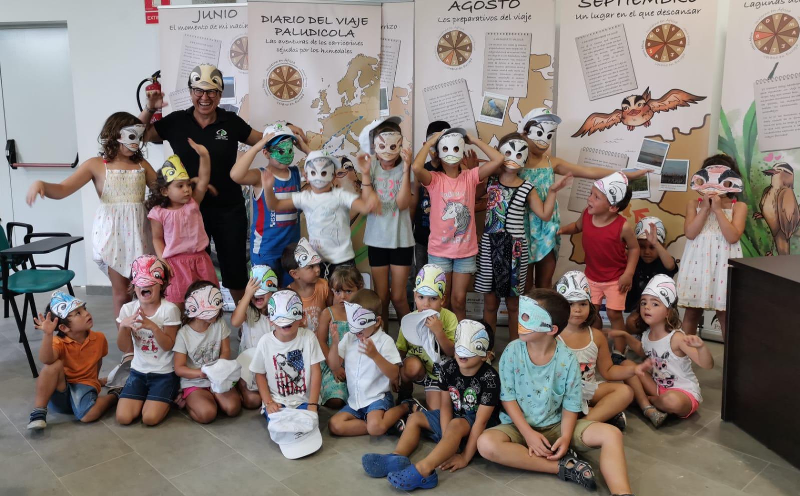 Escuela de verano. Espai Natura Torreblanca (Castellón).