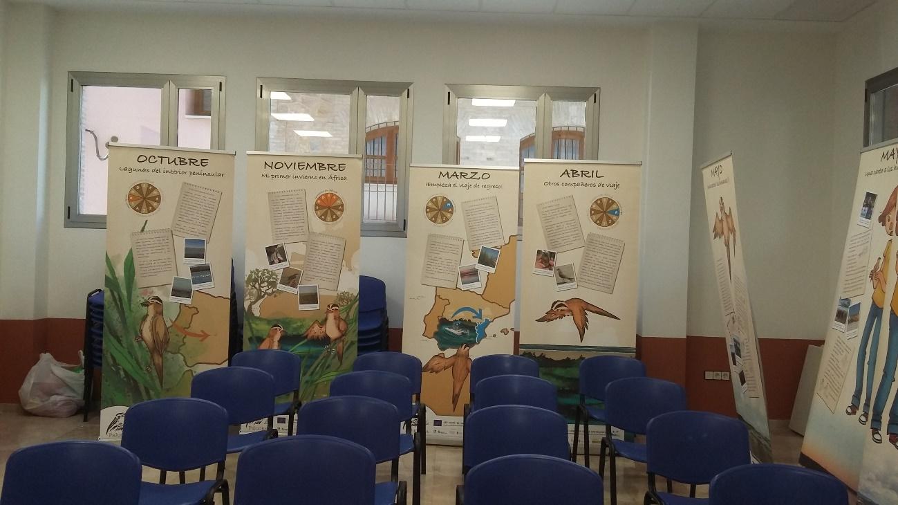 Exposición en Albalat de la Ribera (Valencia)