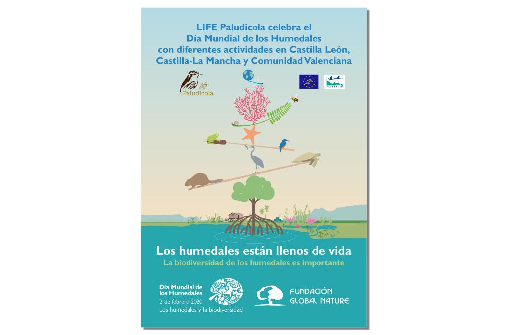 EL PROYECTO LIFE PALUDICOLA CONMEMORA EL DÍA DE LOS HUMEDALES CON DIFERENTES ACTIVIDADES