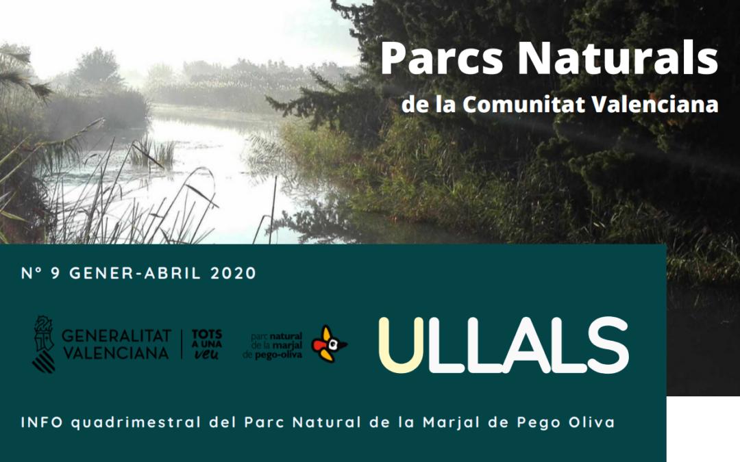 """(Español) BOLETÍN """"ULLALS INCORPORA LAS ÚLTIMAS NOVEDADES DEL PROYECTO LIFE PALUDICOLA"""
