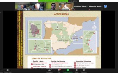 PARTICIPAMOS EN EL SIMPOSIO DEL EQUIPO INTERNACIONAL DE CONSERVACIÓN DEL CARRICERÍN CEJUDO (AWCT) 2021