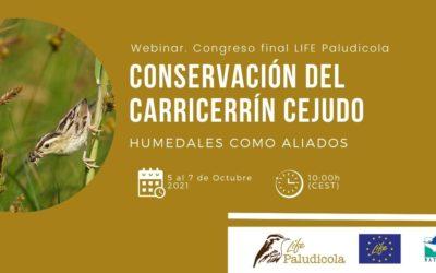 (Español) Ya tenemos fecha para el evento de clausura del LIFE Paludicola: 5 al 7 octubre ¡Reserva la fecha!